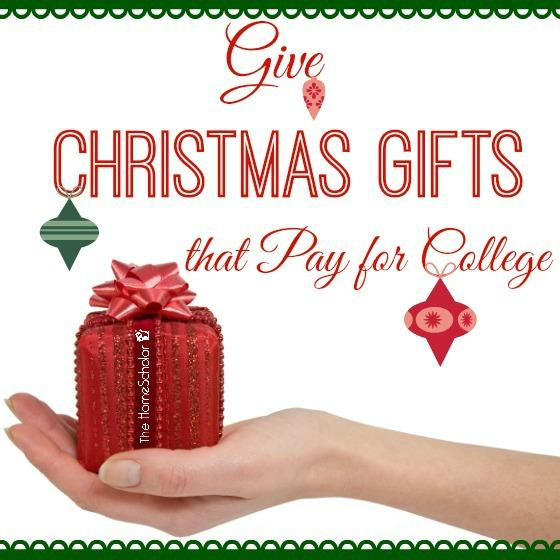 Give Christmas Gifts that Pay for College