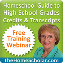 The HomeScholar Free Transcripts Training