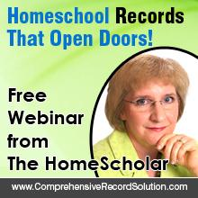 The HomeScholar Free Records Training