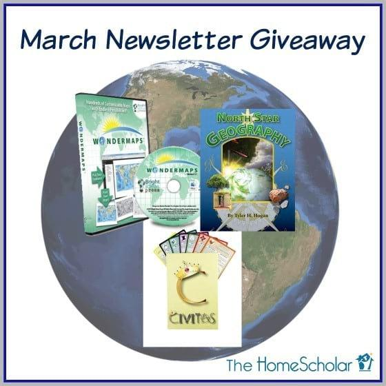 Enter Now - March Newsletter Giveaway