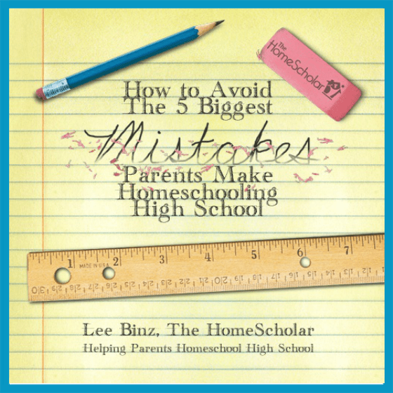 [Free Class] How to Avoid the 5 Biggest Mistakes Parents Make Homeschooling High School
