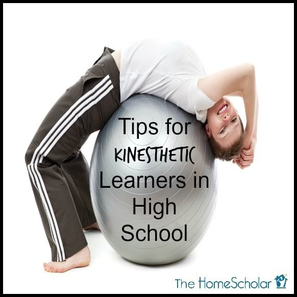 Tips for Kinesthetic Learners in High School