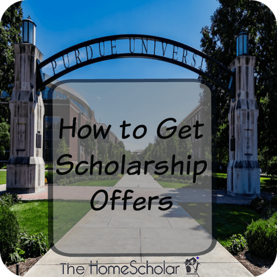 How to Get Scholarship Offers