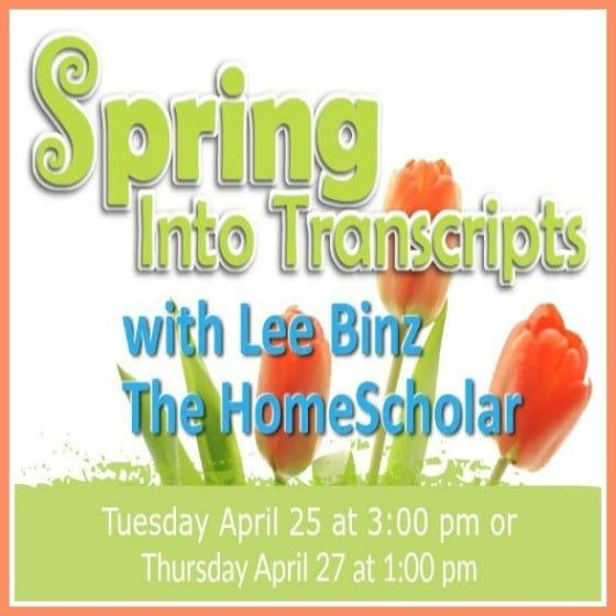 Come Spring Into Transcripts With Me!