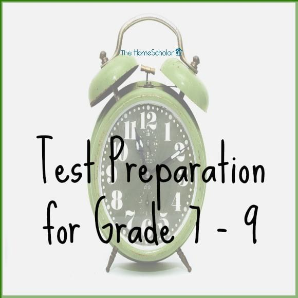 Test Preparation for Grade 7 - 9