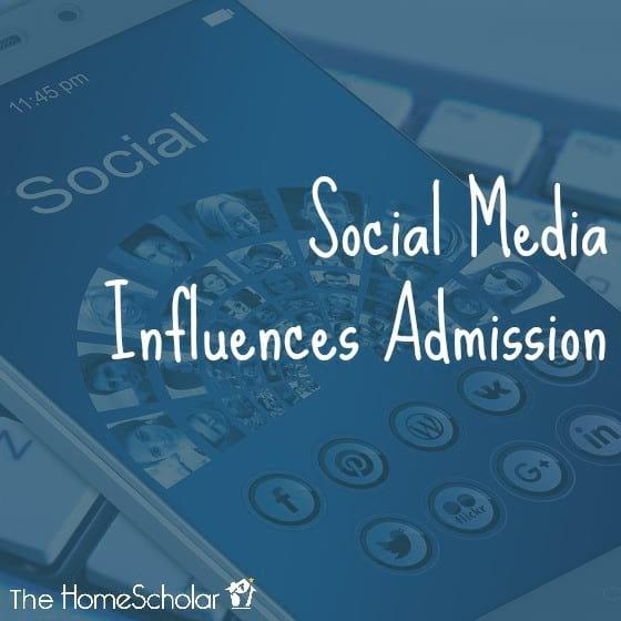 Social Media Influences Admission