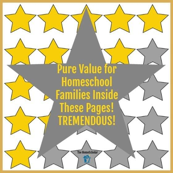 ✰✰✰✰✰ Pure Value for Homeschool Families Inside These Pages! TREMENDOUS!