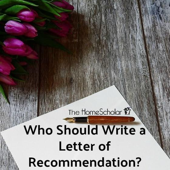 Who Should Write a Letter of Recommendation?
