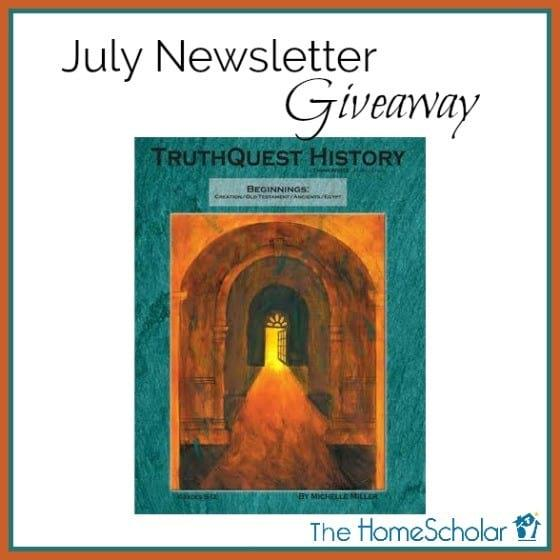 July Newsletter Giveaway - Enter NOW!