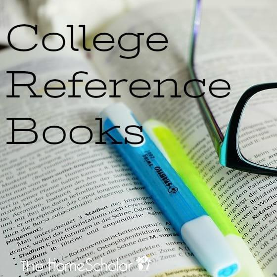 College Reference Books