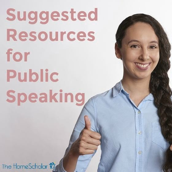 Suggested Resources for Public Speaking