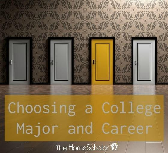 Choosing a College Major and Career