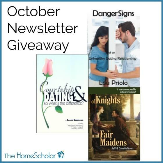 Enter to Win! October Newsletter Giveaway