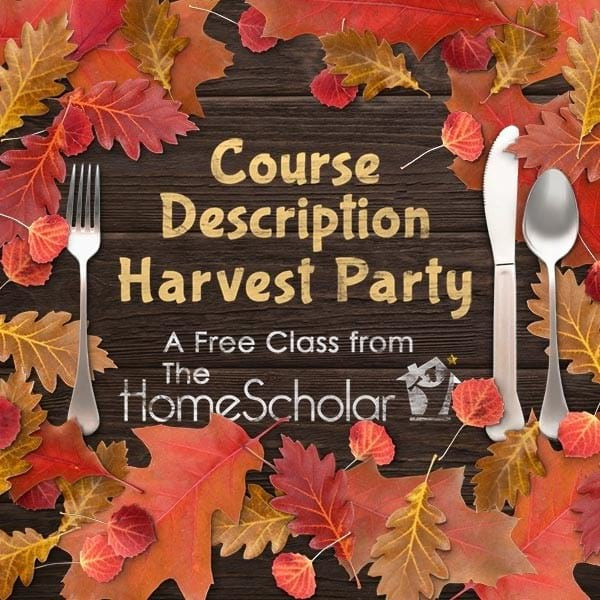 [Free Class] Course Description Harvest Party!