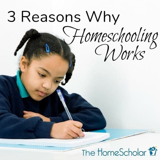 3 Reasons why Homeschooling Works