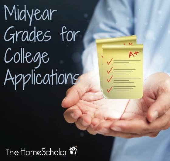 Midyear Grades for College Applications