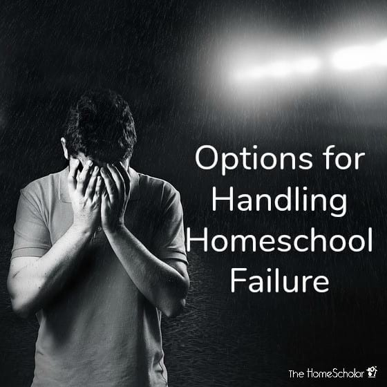 Options for Handling Homeschool Failure
