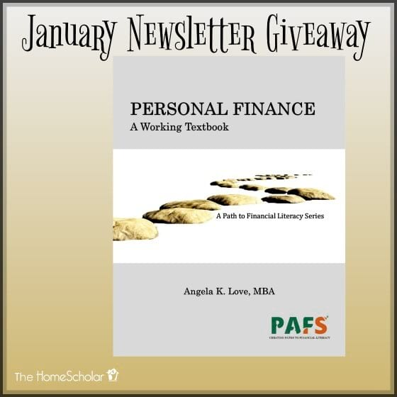 January Newsletter Giveaway