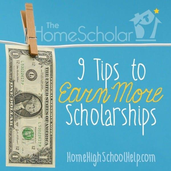 Earn more scholarships