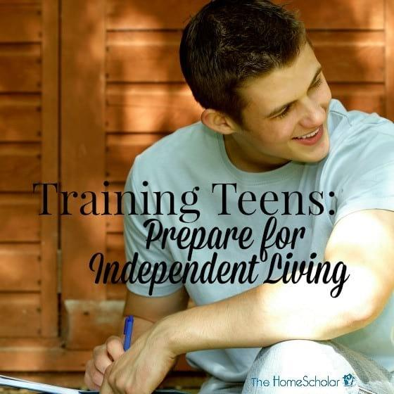 Training Teens: Prepare for Independent Living