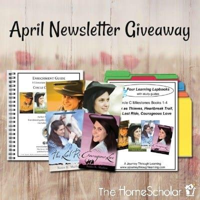 April Newsletter Giveaway - Enter to Win!
