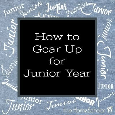 How to Gear Up for Junior Year