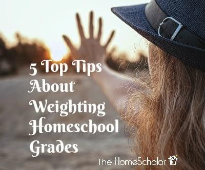 5 Top Tips About Weighting Homeschool Grades