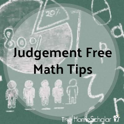 Judgement Free Math Tips