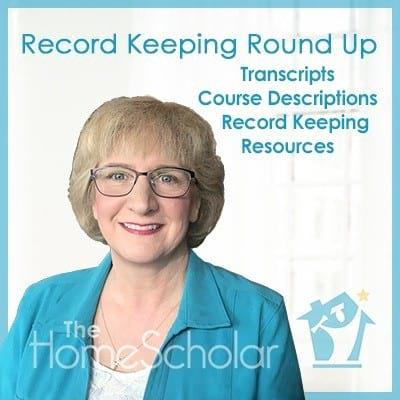 Record Keeping Round Up: Transcripts - Course Descriptions - Samples