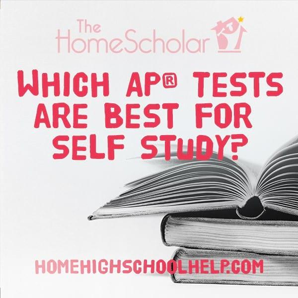 Which AP Tests are Best for Self Study?