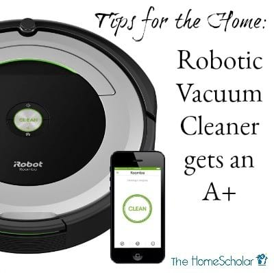 Tips for the Home: Robotic Vacuum Cleaner gets an A+