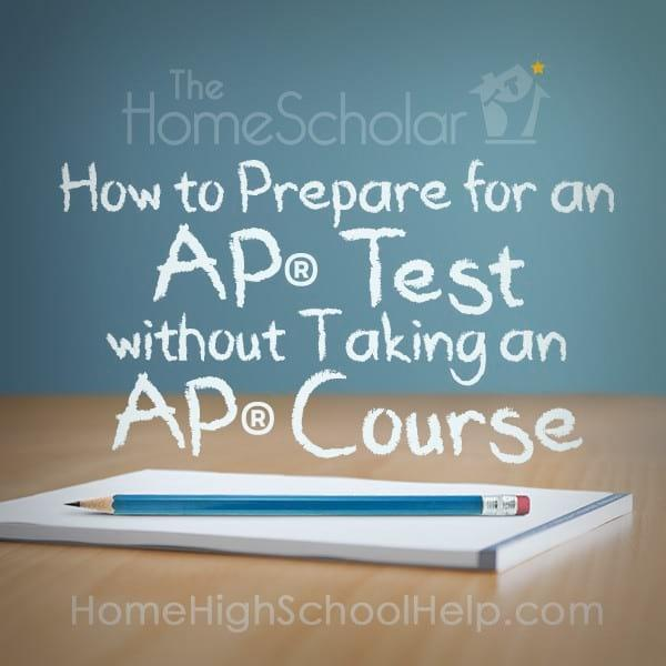 How to Prepare for an AP Test without Taking an AP Course