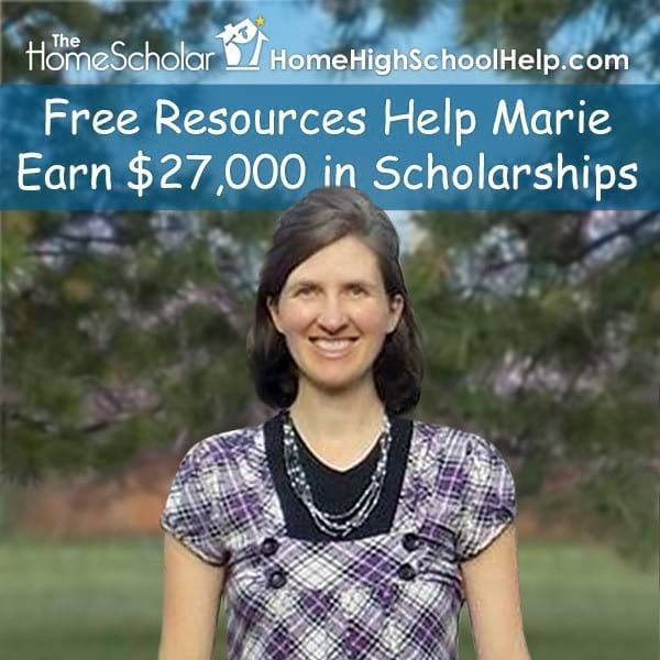Free Resources Help Marie Earn $27,000 in Scholarships