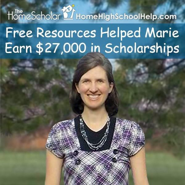 Free Resources Helped Marie Earn $27,000 in Scholarships