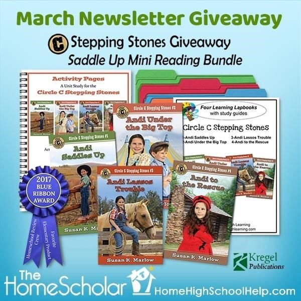 March Newsletter Giveaway