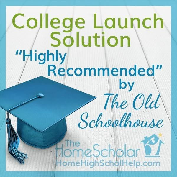 College Launch Solution Highly Recommended by The Old Schoolhouse