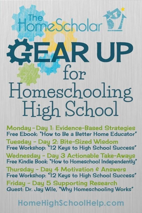 Gear Up to Homeschool High School