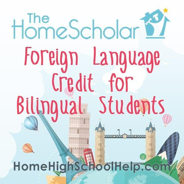 Foreign Language Credit for Bilingual Students