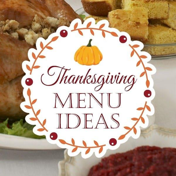 Menu Ideas for Your Thanksgiving Table