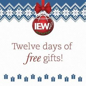 Twelve Days of Christmas with IEW