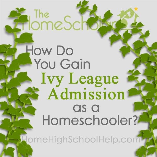 how do you gain ivy league admission