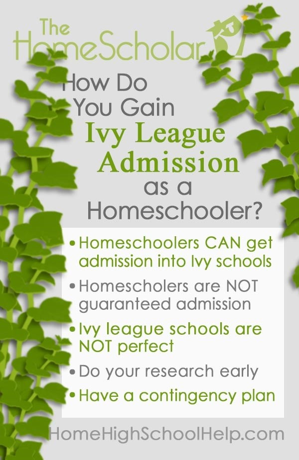 how do you gain ivy league admission pin