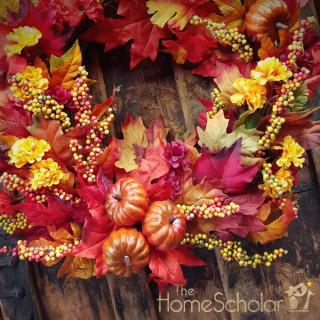 October Homeschool Calendar Reminders