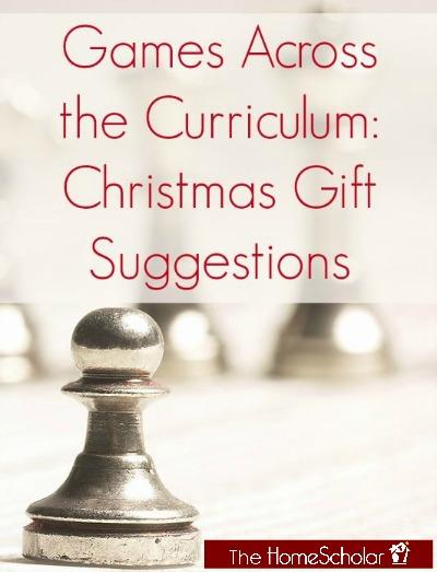 Games Across the Curriculum: Christmas Gift Suggestions