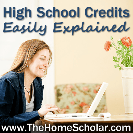 How to determine high school credit #Homeschool @TheHomeScholar