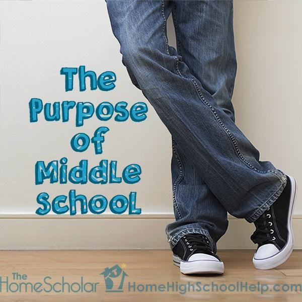 the purpose of middle school